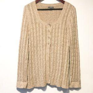 Apt 9 Tunic Cardigan Sweater Size M